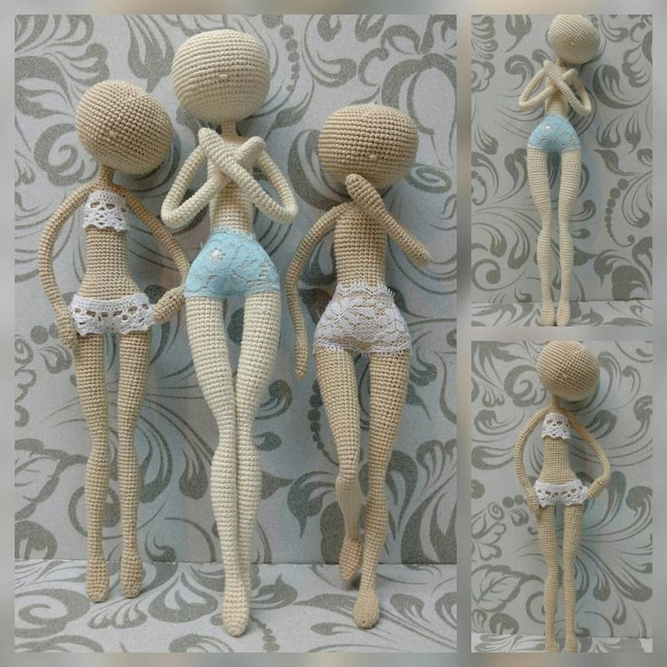 Crochet Amigurumi Doll Body : 25+ best ideas about Crochet dolls on Pinterest Crochet ...