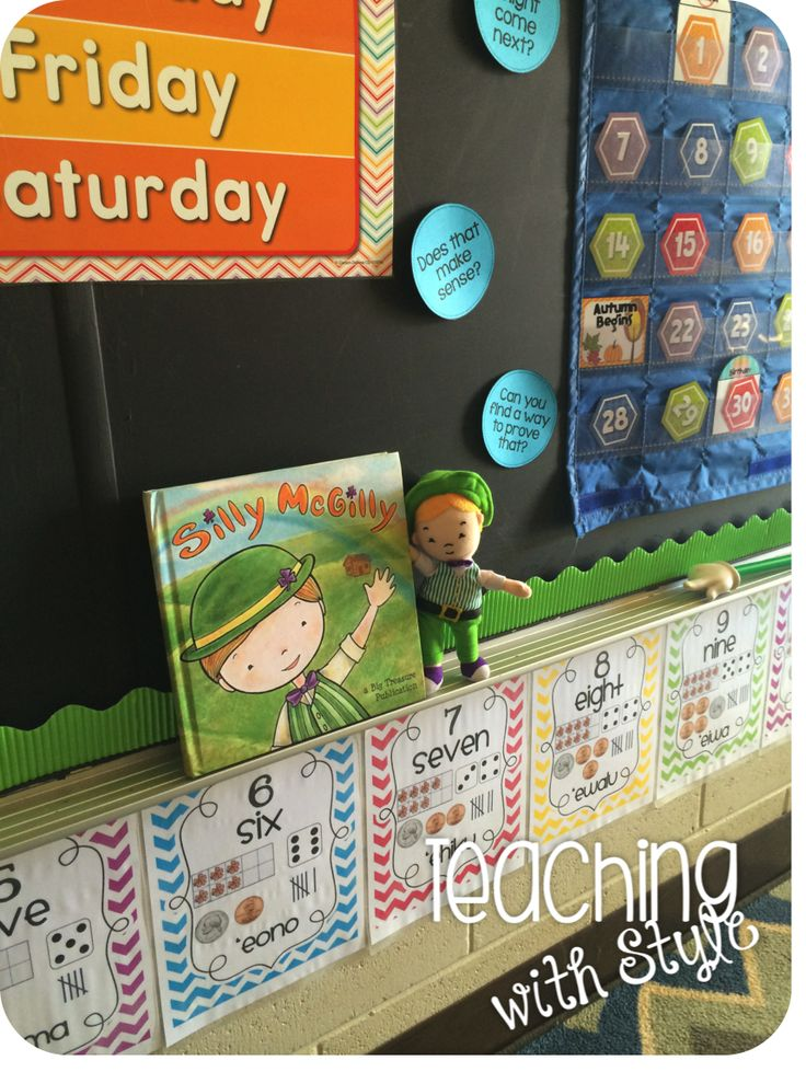 Teaching With Style!: Silly McGilly. A fun way to celebrate St Patricks Day!