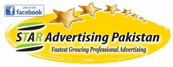* * STAR Advertising Pakistan * * Fastest Growing Professional Advertising * * Www.facebook.com/STARAdvertisingPakistan