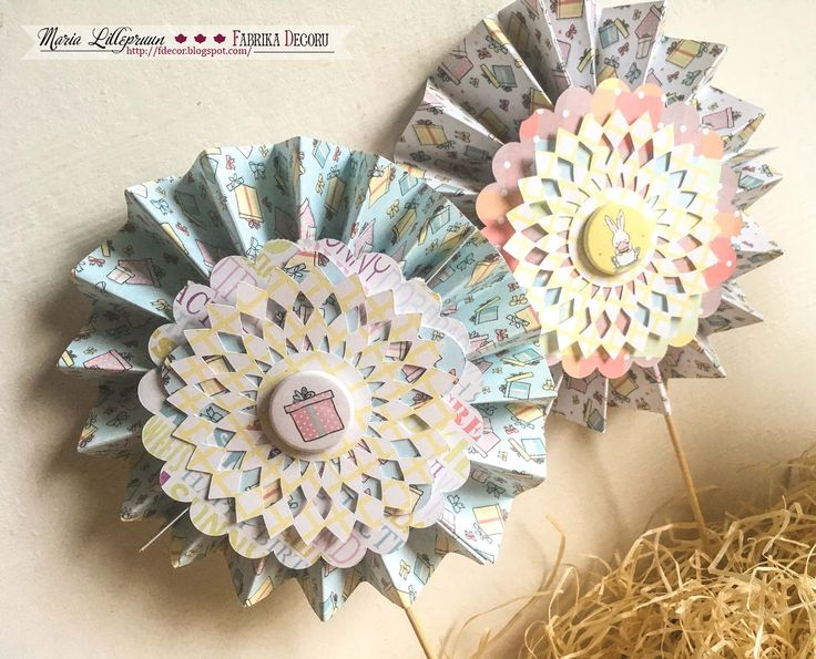 Kids birthday party handmade decorations by Maria Lillepruun
