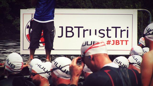 Jenson Button Trust Triathlon Highlights 2014 (VIDEO)