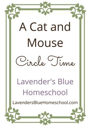 A cat and mouse circle, perfect for singing, dancing, and imagining during Kindergarten circle time.