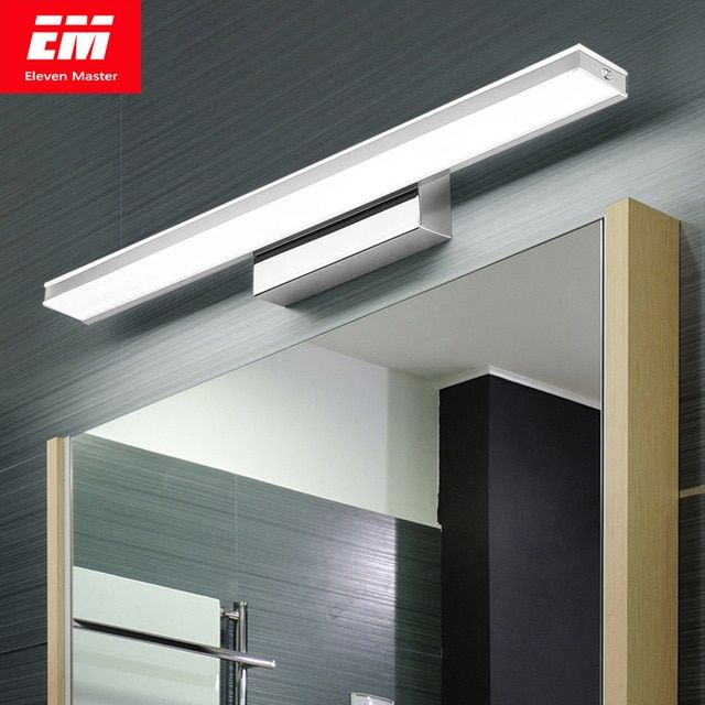 Led Mirror Light 42 52cm 9w 12w Ac110 240v Waterproof Modern