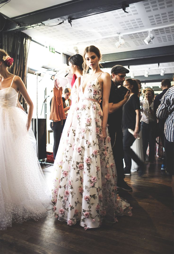 Backstage at the dreamy Ida Sjöstedt SS16 show http://saniaclausdemina.com/backstage-at-the-dreamy-ida-sjostedt-ss16-show/
