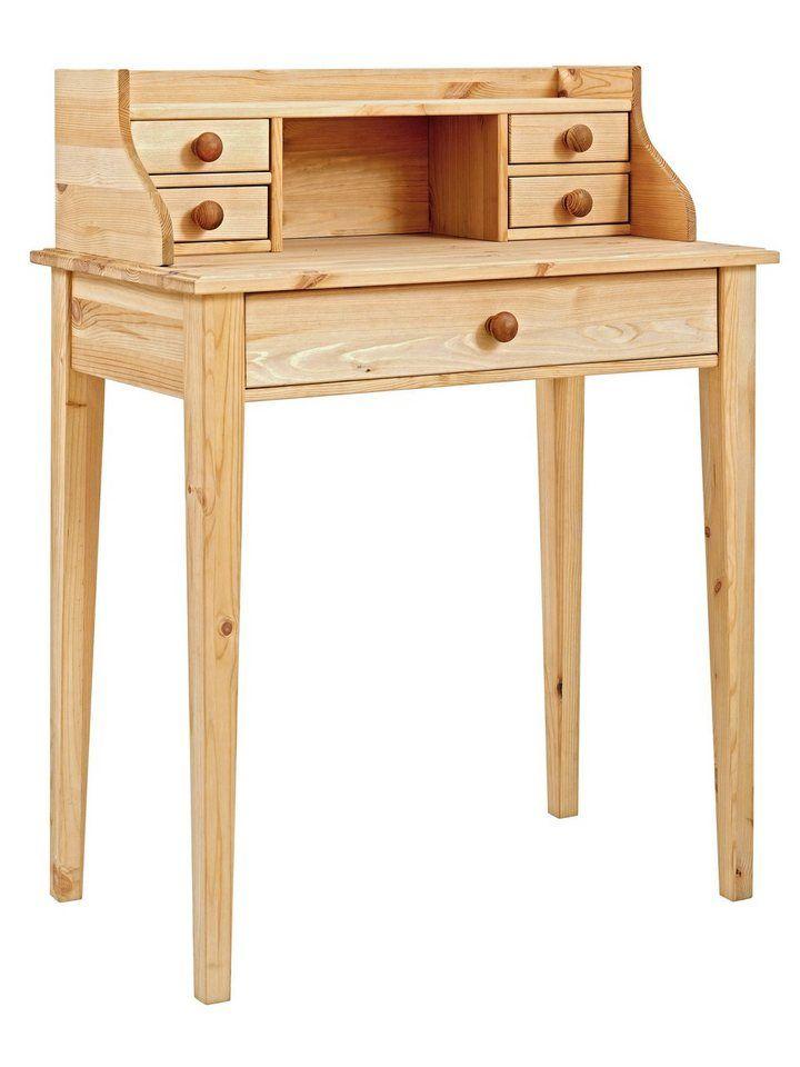 heine home Schreibtisch, Aus massivem Kieferholz online kaufen
