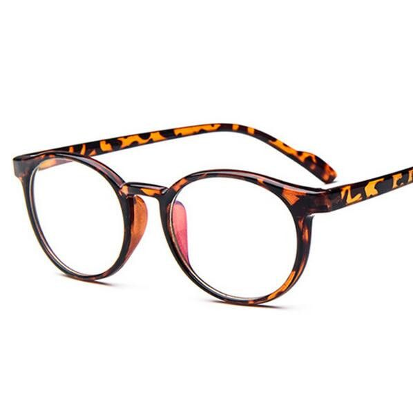 2017 Monturas De Gafas Retro Vitage Brand Round Frame Computer Plain Eyeglasses For Optical Myopia Eye Glasses Oculos De Grau