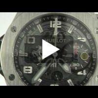 BIG BANG FERRARI WATCH IN TITANIUM by HUBLOT - Video