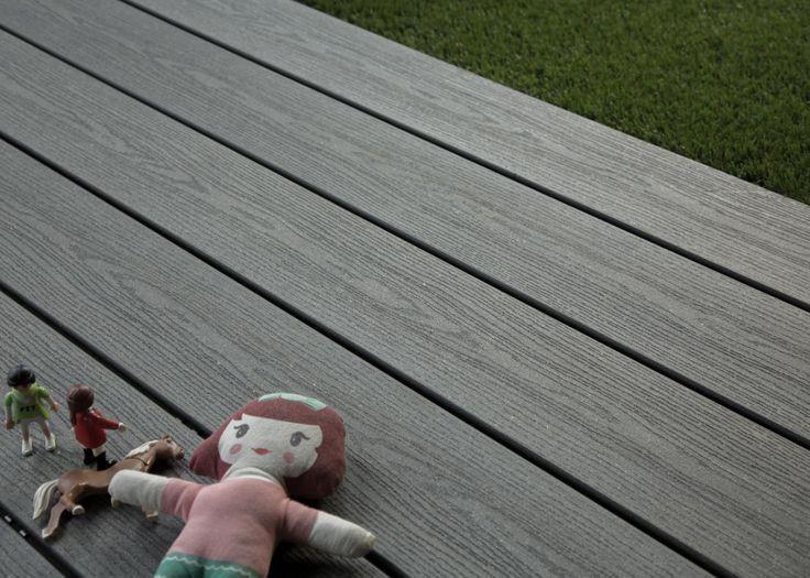 Les 10 meilleures images du tableau terrasse bois composite la parqueterie no - Lame parquet composite ...