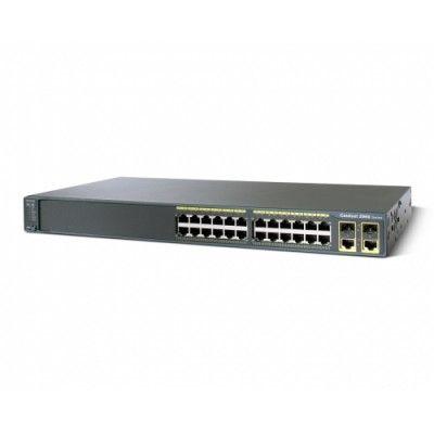 Cisco Catalyst 2960 24 10/100 + 2T/SFP