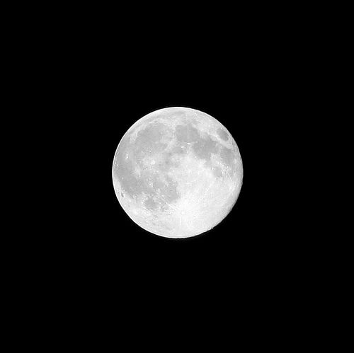 ...just a full moon...