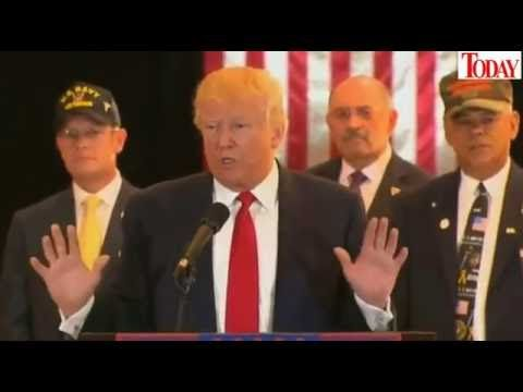 FULL Speech: Donald Trump Press Conference on Veteran Donations at Trump...