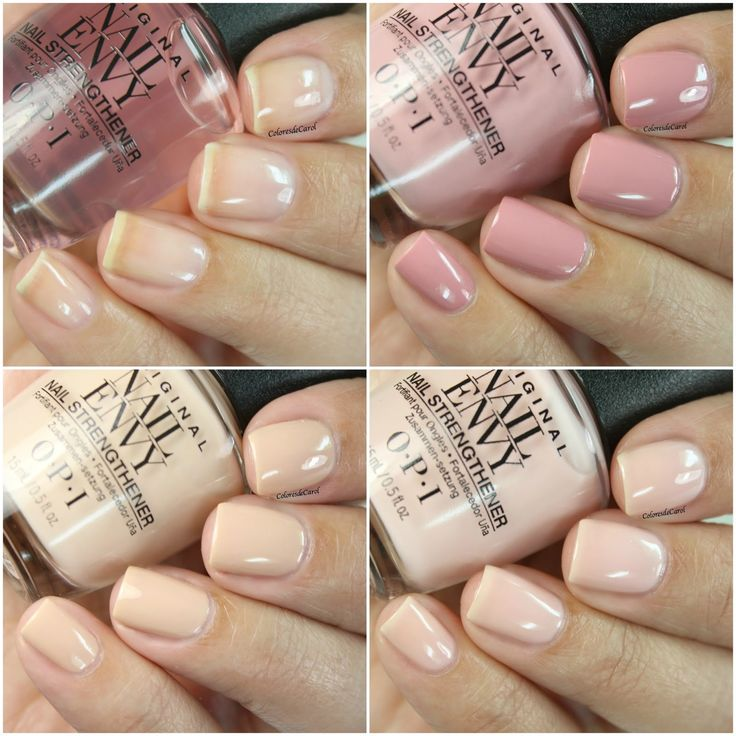 ***Press Sample***     Hello!   OPI combined the amazing strengthening powerof the Nail Envy with the most beautiful soft shades to create...