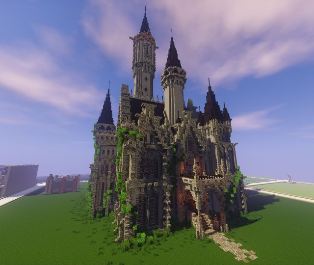 Gothic Castle (Now with download) Minecraft Project