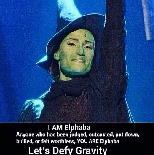 I am Elphaba. <3