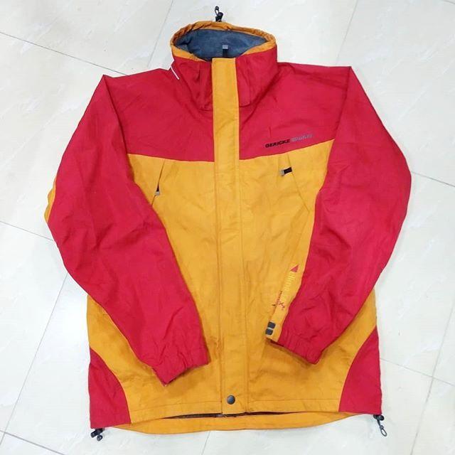 تکپوش گرتکس مارک Gericke Sports انگلستان سایز Xl مناسب قد بین ۱۸۰ تا ۱۹۰ سانتی متر مناسب وزن بین ۱۰۰ ت Athletic Jacket Nike Jacket Fashion