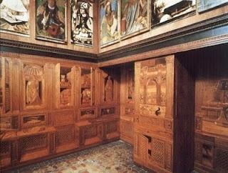 Studiolo Of Federico Da Montefeltro Urbino Italy Find This Pin And More On Interior Design History