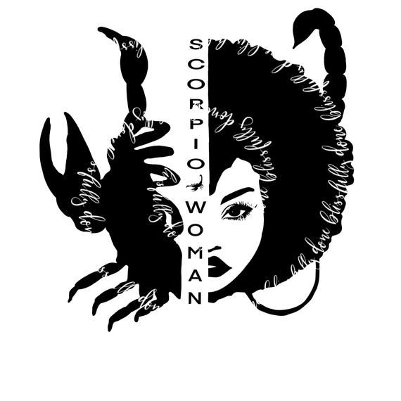 Capricorn Girl Knows More Than She Says Thinks More Than She Speaks Notices Smart Ethnic Woman Designs Cut Files Silhouette SVG File Only