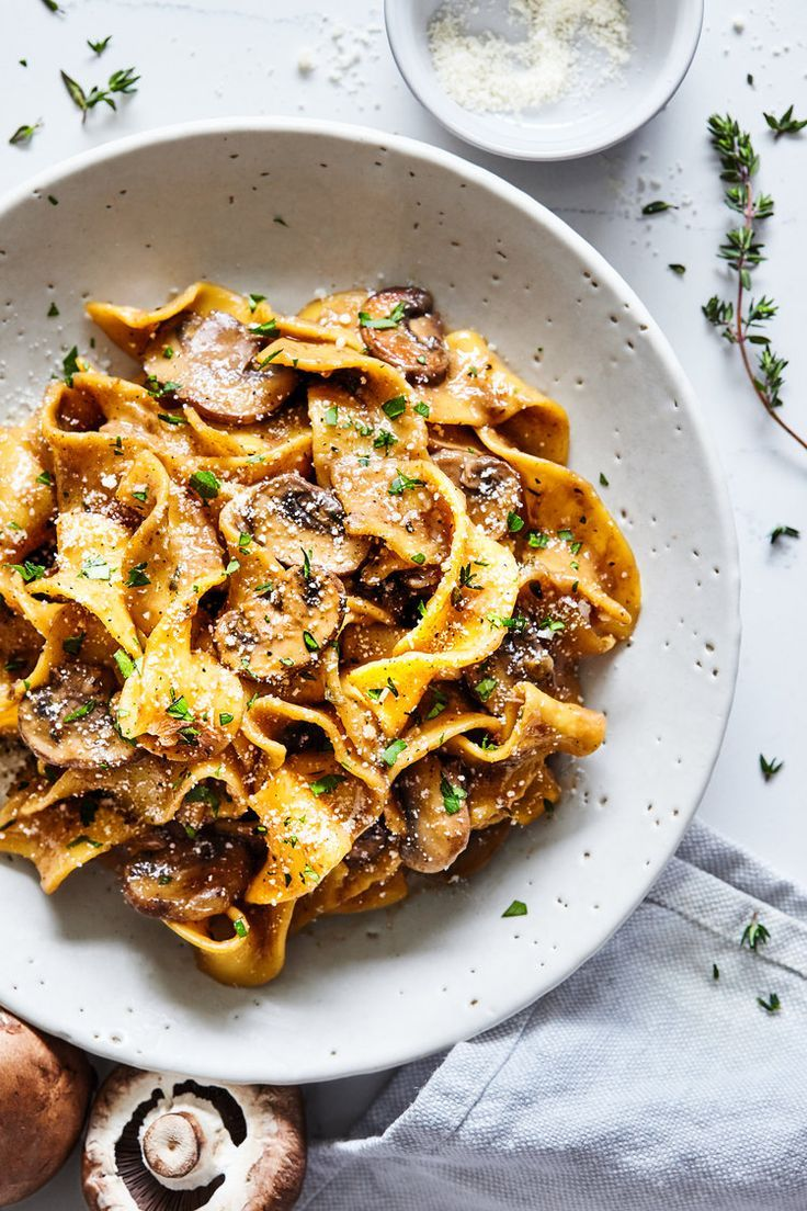 pasta stroganoff type meal food