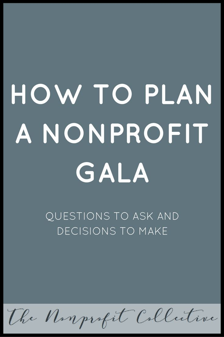 Are you planning your annual gala? Find out what questions you need to discuss as you plan your nonprofit's annual gala fundraiser.