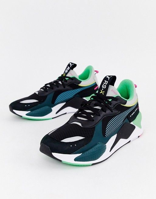 20f9a18552f Puma RS-X Toys sneakers in black