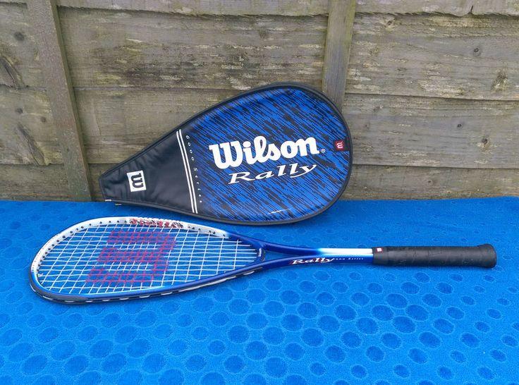 Wilson 6000 Squash Racket Lightweight 216g Aluminium Frame Nice Sweetspot & Case in Sporting Goods, Squash, Rackets | eBay