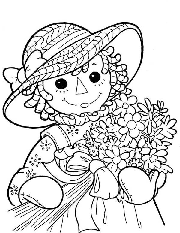 268 best redwork children images on pinterest embroidery for Raggedy ann and andy coloring pages