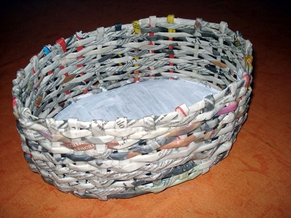 Handicraft Newspaper Basket : Best images about handicraft kids on search