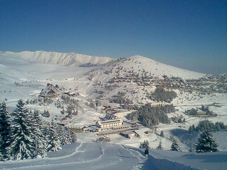 Popova Shapka  - Ski resort near Tetovo, Macedonia