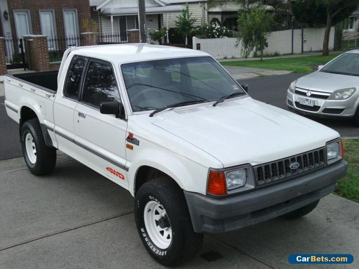 FORD COURIER 1993 EXTRA CAB 4WD UTILITY #ford #courierextracab #forsale #australia