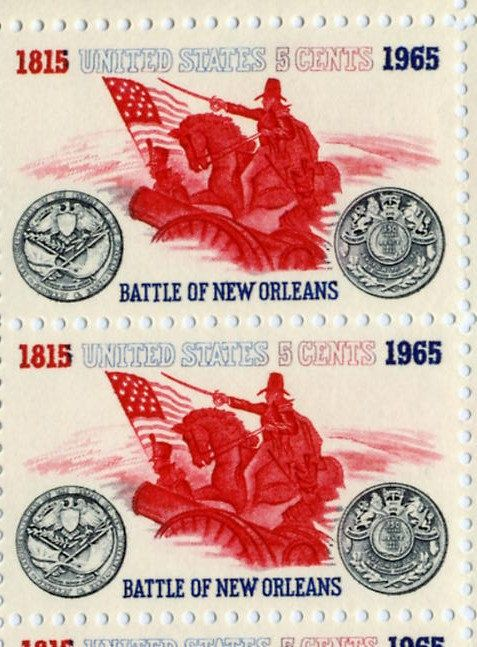 5 cents US Postage Battle of New Orleans by celebratevintage, $3.00