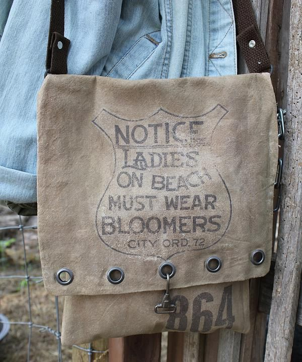 cinnamon creek dry goods | Must WEar Bloomers Bag... 11 x 12 ~ 44-