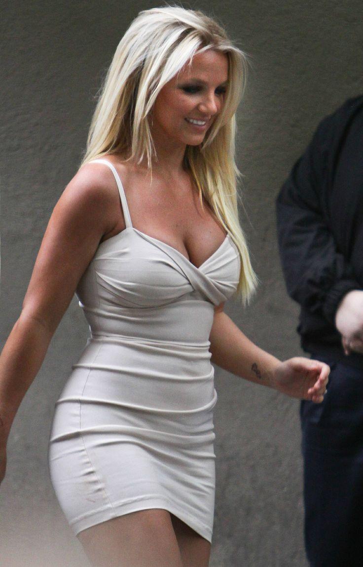 Britney Spears - White Mini Dress