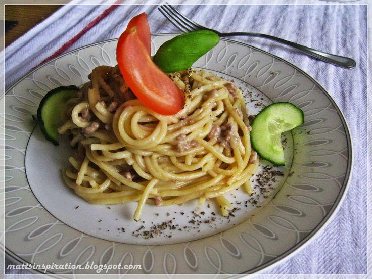 Musztardowe spaghetti #mattsinspiration