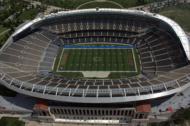 Soldier Field...Go Bears! My photography!