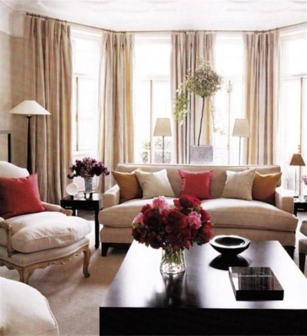 17 best brown red orange living room images on pinterest - Red orange and brown living rooms ...