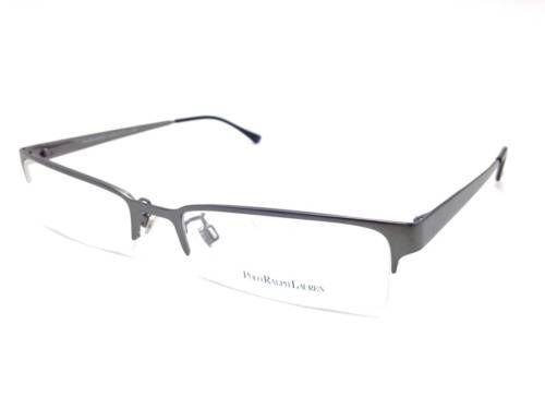1232efe5f14c Vision Care 31414   350 Polo Ralph Lauren Mens Gunmetal Eyeglasses Frames  Glasses Lenses Rx Ph