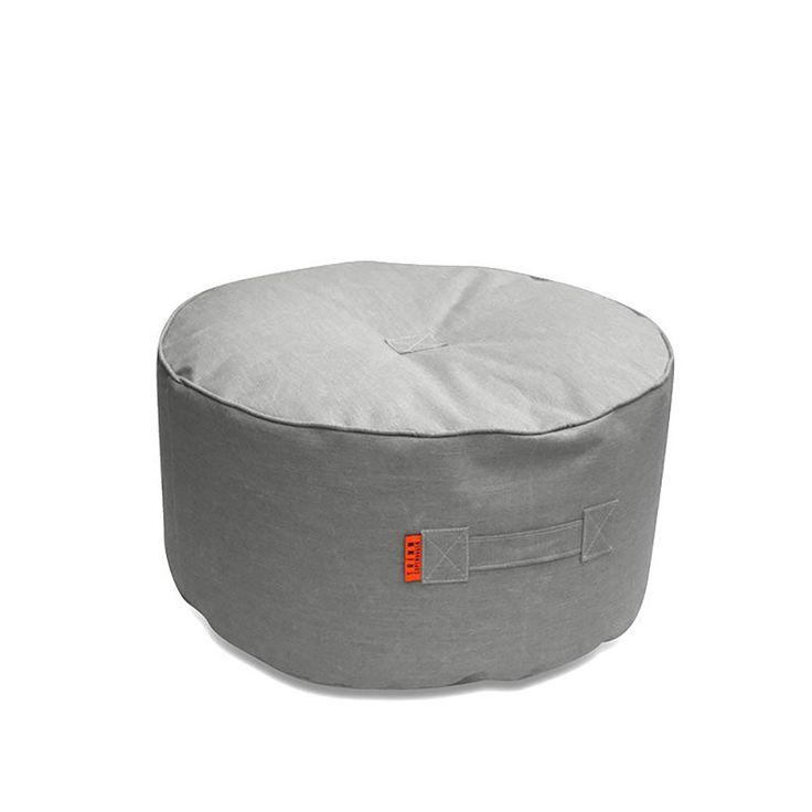 top3 by design - Trimm Copenhagen - tiny moon table pouf grey