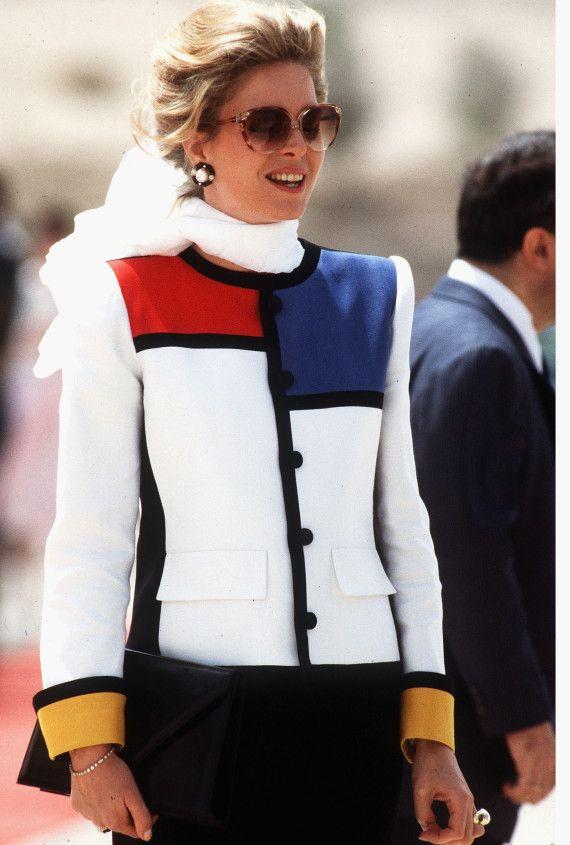 Queen Noor of Jordan (80s)