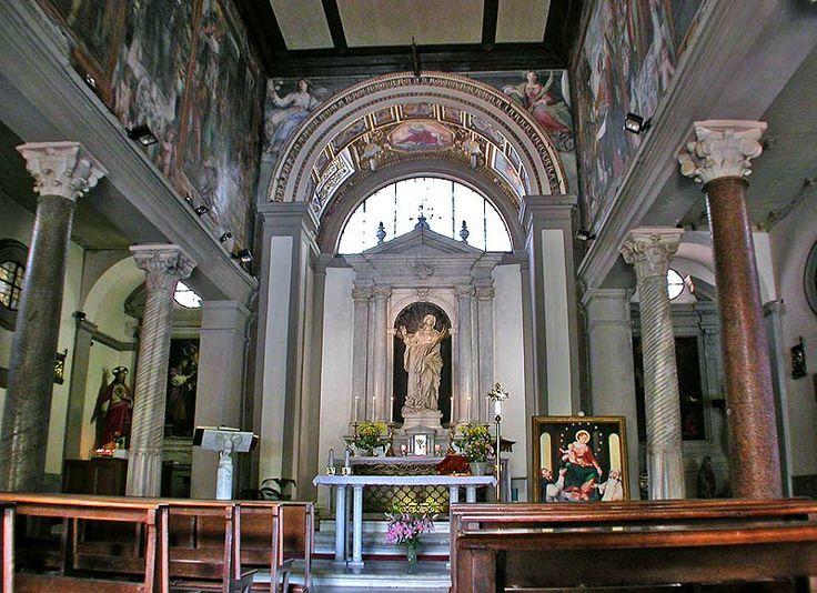 Gian Lorenzo Bernini. Iglesia de Santa Bibiana, Roma (1624-26)