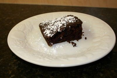 Waky Cake - It was made during WWII, when food (like eggs and milk) were rationed. Although this cake lacks both eggs and milk, it is delicious and moist.