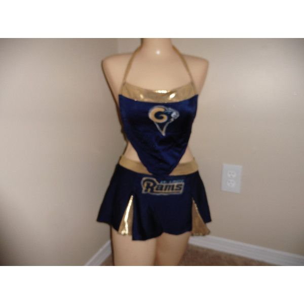 st louis rams nfl neon football halloween costume cheerleading skirt 55 - St Louis Halloween Store