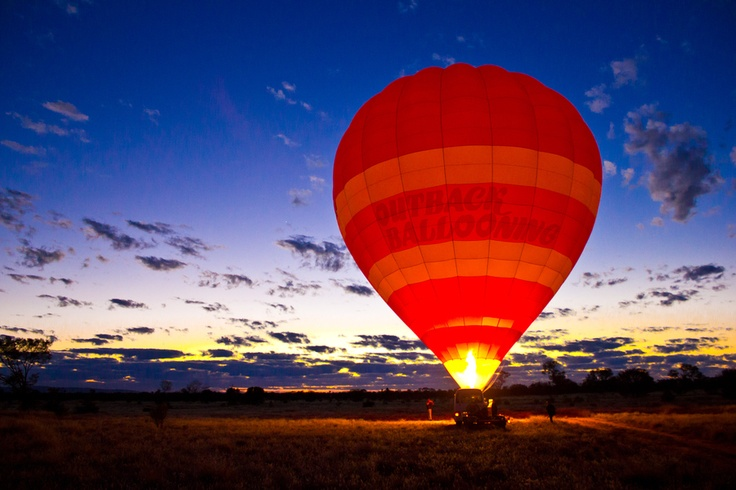 Outback Ballooning, Alice Springs, Northern Territory, Australia.