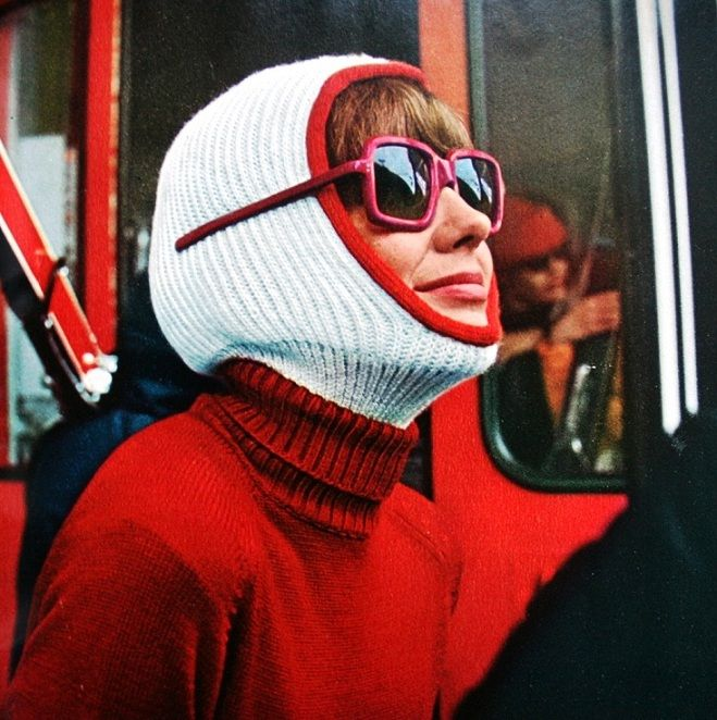 Jardin des Modes December 1965  Photo Vernier