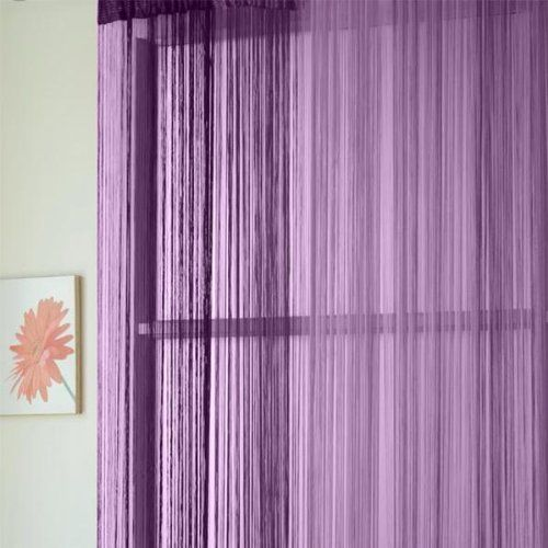 Cheap curtain holdback, Buy Quality curtain magnet directly from China curtain Suppliers: Purple line curtain decorative curtain rod curtain head cover 96 * 300cm