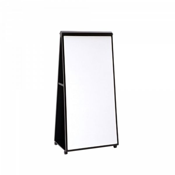Groupwork Mobil Easel Affordable. Mobile. Durable. The Groupwork Mobile Easel is a great way to add a mobile whiteboard to any space. The markerboard is a white non-glare, non-magnetic laminate that accepts all standard dry-erase markers. With a tack board on the other side, it's a versatile addition to any collaborative space. The Mobile Easel can also double as a quick easy way to divide larger spaces as a partition. Mobile tools help get the job done wherever groups work: conference…