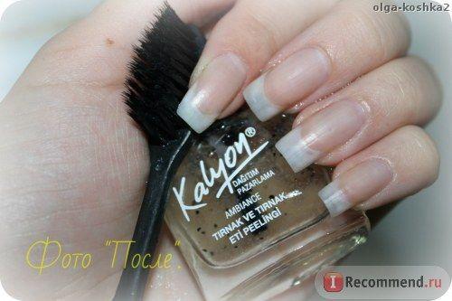 Скраб для ногтей и кутикулы Kalyon Натуральное средство для пилинга ногтей и кутикул на основе экстрактов бамбука и кокоса: глубокое очищение ногтевой пластины, интенсивное питание и увлажнение. Производство ТМ Kalyon. Объем 11 мл.