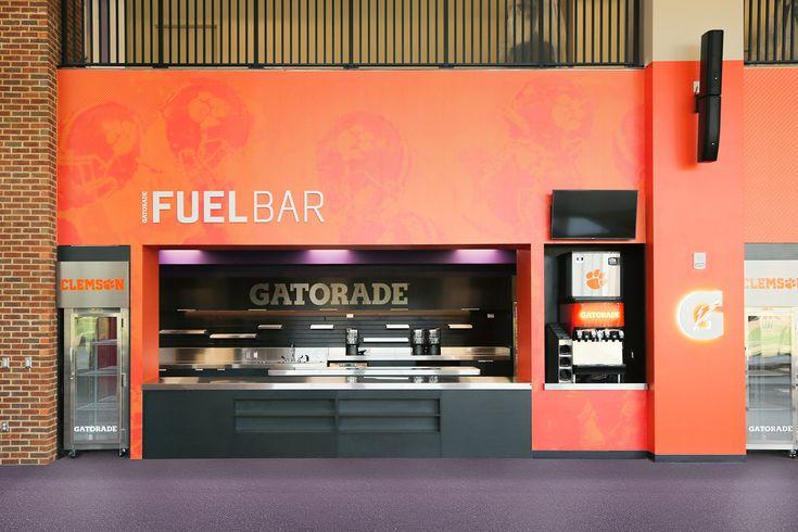 Gatorade Fuel Bar, Clemson on Behance