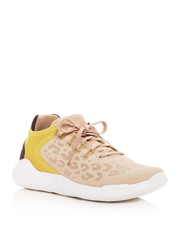 official photos 356d6 1feb7 Nike Women s Free Rn 2018 Wild Suede Lace Up Sneakers