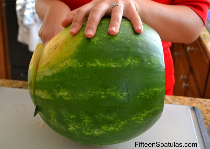 How to pick the perfect watermelon at the store and how to easily cut it. No more buying yucky watermelons!