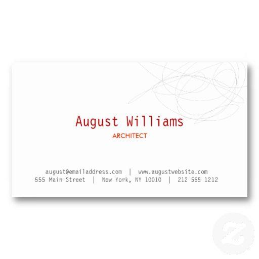 24 best business cards for architects architecture images on designer scribble business card reheart Choice Image
